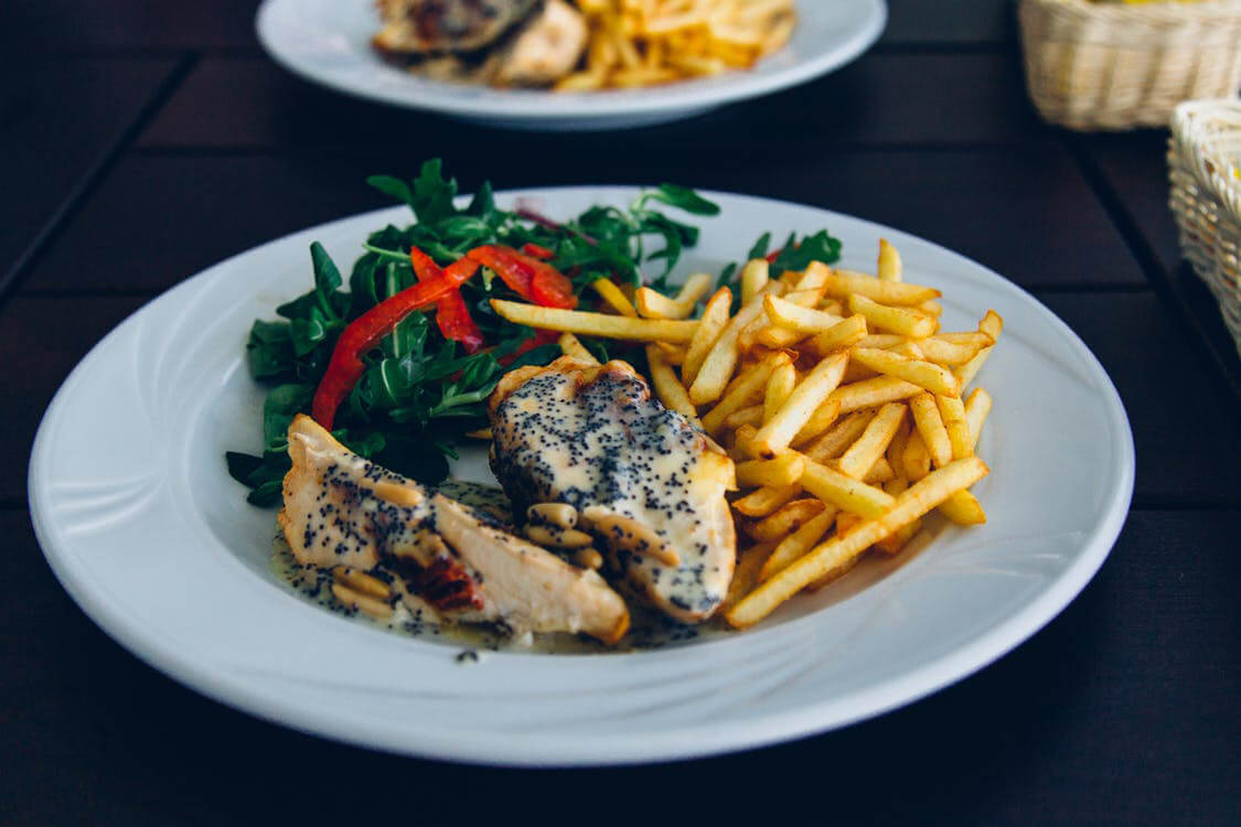 Peppered Chicken Goujons